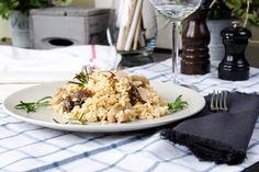 Obst trifft Reis - Risotto mit Birnen und Maronen http://www.diaeten-mit-gesunder-ernaehrung.de/gesunde-rezepte/auflaeufe-pasta-seite-4/risotto-mit-birnen-und-maronen/