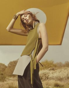 """Mystical Bohemia"" / Mali Koopman photographed by Charlotte Wales and styled by…"