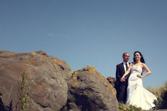 The happy couple in the rocks ! Wedding Advice, Post Wedding, Wedding Couples, Fall Wedding, Ireland Wedding, Irish Wedding, Wedding Planner, Destination Wedding, Industrial Wedding