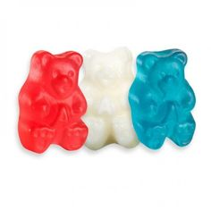 Gummi Freedom Bears - Red, White and Blue | Bulk Candy Store
