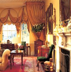 Living Rooms Spencer-Churchill Designs Ltd.