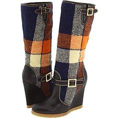 plaid boots!