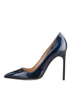 BB Shimmer Patent 115mm Pump, Navy (Made to Order), How would you style this shoe? http://keep.com/bb-shimmer-patent-115mm-pump-navy-made-to-order-by-elle_magazine/k/1LWBYkABHf/