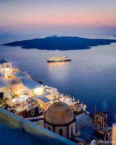 SANTORINI, Греция или Турция