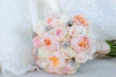 Elegant Texas Country Wedding Brides Bouquet