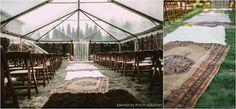 Boho Wedding Aisle Runner | The Big Fake Wedding Nashville