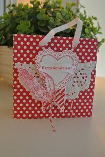 Hearts a Flutter, Fine Feathers Stampin up. More info: miriam-cardsandscrapping.blogspot.nl