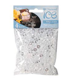 Diamond Ice Gems 8mm/4 Carat 800/Pkg-Clear Joanne 6.99
