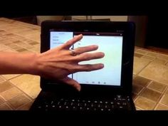 ▶ iPad2: Voiceover and the Refreshabraille 18 for Regular Ed. Teachers/Parents 2-2 - YouTube