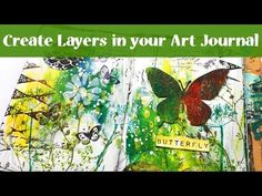Susanne Rose Designs: Create Layers in your Art Journal Mixed Media Canvas, Mixed Media Collage, Collage Art, Art Journal Pages, Junk Journal, Art Journals, Mixed Media Tutorials, Art Tutorials, Art Journal Tutorial