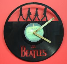 Vinyl laser cut out, all clocks work and we also have some that play there hit song.