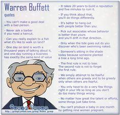 Fabulous Thoughts From Warren Buffet via @gayecrispin