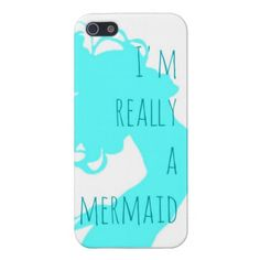 Endless Summer I Am Really A Mermaid i-Phone Case Covers For iPhone 5