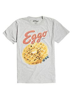 Nothing comes between you and your Eggos // Eggo Waffle T-Shirt