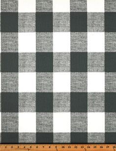 Dark Gray Valance. Gunmetal  and white. Buffalo Check. Curtain. Window treatment. Checkered Country curtains.  Choose  your sizes by TwistedBobbinDesigns on Etsy