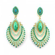 Chandelier Ohrringe WENDY von TRENDOMLY JOLIEBijouterie Earrings Jewelry Trend 2014