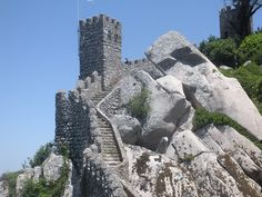 Castle of the Moors; Sintra, Portugal
