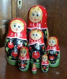 Sweet Russian dolls set £12.50. x #vintage #retro #vintageshop #aberdeen #vintageaberdeen #Russiandolls