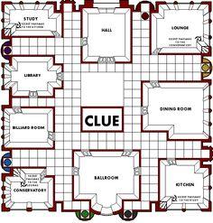 Image Result For Clue Board Game Mansion Boardwalk