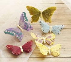 Feather Butterfly Clip-Ons | Pottery Barn Kids