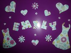 Piccy for a girls room