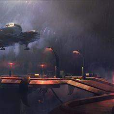 Star Wars: Uprising starship