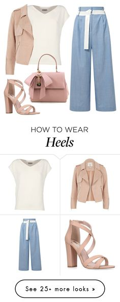 """#044"" by vanellopevonscweetz on Polyvore featuring Alberto Biani, TIBI, River Island and Miss KG"