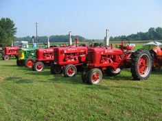 Tractors...if only they were Masseys