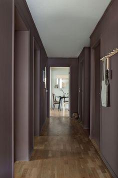 Fargen Daydream fra LADY forvandlet inntrykket og ga et ryddig og helhetlig inntrykk. Se før og etter bildene av den smale gangen! Oversized Mirror, Lady, Interior, Furniture, Home Decor, Interieur, Indoor, Home Furnishings, Interior Design