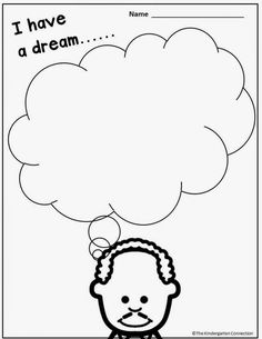 FREE Martin Luther King Jr Printables and Read Alouds for Kindergarten! Honoring Martin Luther King, Jr (and a freebie!) - The Kindergarten Connection Mlk Jr Day, King Craft, Black History Month Activities, Religion, King Jr, In Kindergarten, Writing Centers, Young Children, Printables