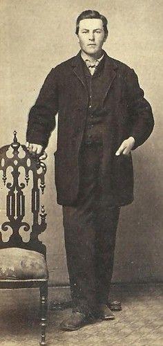 CDV Photo Well Dressed Young Victorian Gentleman Civil War Era Maine | eBay