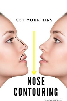 If you are looking to contour your nose. Read this article that explains contouring techniques for most nose type. #nose contour #contouring #Contouring and Highlighting #how to nose contour