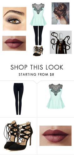 """""""Slender Man"""" by kaylamoraled on Polyvore featuring 3x1, City Chic and Avon"""