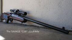 Savage Cub .22LR Rifle Up Close