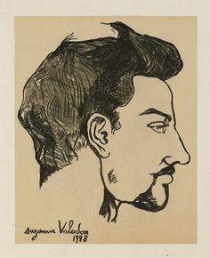Suzanne Valadon Portrait of Utrillo, 1928 Portrait of Utrillo (in ...