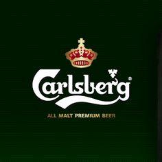カールスバーグのロゴ:伝統とモダンの調和   ロゴストック