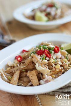 Kokit ja Potit -ruokablogi: Pad Thai eli paistettu nuudeli