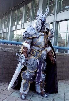 arthas cosplay - Google Search & ah now that would be an awesome halloween costume #Lich King #WOW ...