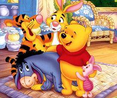♥ winnie pooh & friends ♥ celebrities & public figures that Whinnie The Pooh Drawings, Winne The Pooh, Cute Winnie The Pooh, Winnie The Pooh Quotes, Eeyore Pictures, Winnie The Pooh Pictures, Pooh Bear, Tigger, Instagram Cartoon