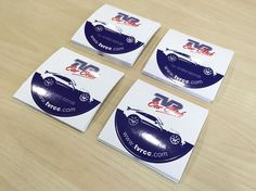 Self cling round window stickers designed, printed, contour cut and perf cut for the TVR Car Club