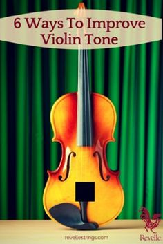 "6 Ways To Improve Violin Tone <a href=""http://www.connollymusic.com/revelle/blog/6-ways-to-improve-violin-tone"" rel=""nofollow"" target=""_blank"">www.connollymusic...</a> Revelle Strings Violins"