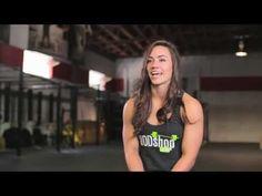 ▶ Camille Leblanc Bazinet - WODshop Athlete - YouTube **girl crush**