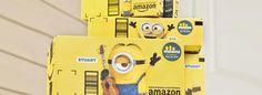 Amazon convierte el packaging de sus productos en un nuevo soporte publicitario
