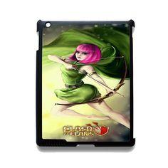 Clash Of Clans Archers TATUM-2669 Apple Phonecase Cover For Ipad 2/3/4, Ipad Mini 2/3/4, Ipad Air, Ipad Air 2
