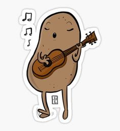 What A Sweet Potato Sticker