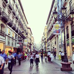 Calle de Alfonso en #Zaragoza, Aragón