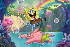 SpongeBob and Patrick . Cartoon Wallpaper Iphone, Cute Cartoon Wallpapers, Aesthetic Iphone Wallpaper, Disney Wallpaper, Spongebob Patrick, Spongebob Memes, Spongebob Squarepants, Spongebob Drawings, Squidward Tentacles