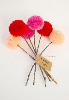 pom pom flowers