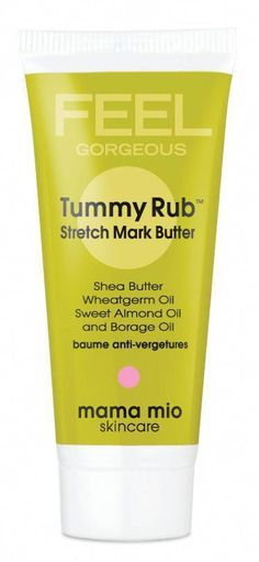 "Mama Mio's Tummy Rub Stretch Mark Butter - one mom says, ""I lathered this all over my body during my entire pregnancy..and I have no stretch marks!"" #beauty #pregnancy #StretchMarksBeforeAndAfter #StretchMarksOnThighs Stretch Marks On Thighs, Just In Case, Just For You, Borage Oil, Tracy Anderson, Stay In Shape, Everything Baby, Baby Bumps, Pregnancy Tips"