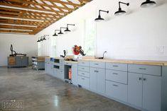 My Dream Workshop Cabinets – Sawdust 2 Stitches – Garage Organization DIY Garage Workshop Plans, Garage Workshop Organization, Basement Workshop, Workshop Layout, Car Workshop, Workshop Storage, Workshop Ideas, Garage Plans, Garage Storage